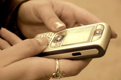 Sms är en av standardfunktionerna i alla mobiltelefoner