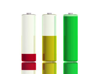 Olika telefoner har olika batterikapacitet